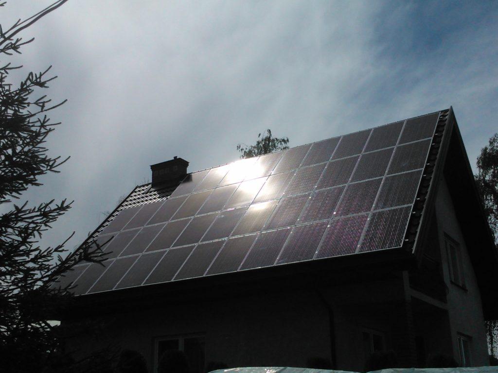 Kolektory słoneczne Dębe Wielkie